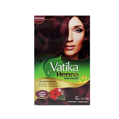 DABUR VATIKA HAIR COLOUR BURGUNDY 60 gr