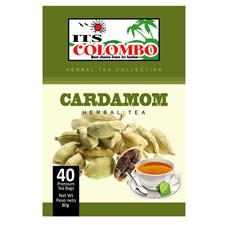 ITS COLOMBO CARDAMOM TEA 80 gr . 40 bags