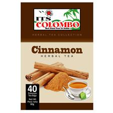 ITS COLOMBO CINNAMON TEA 80 gr . 40 bags