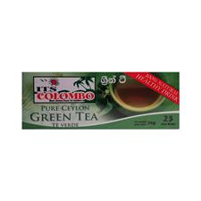 ITS COLOMBO GREEN TEA BAGS 50 gr . 25 bags