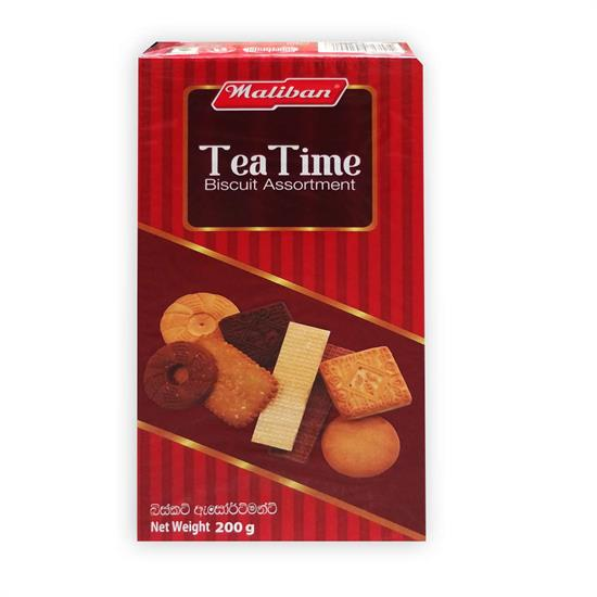 MALIBAN BISCIUTS - TEA TIME ASSORTMENT 200 gr