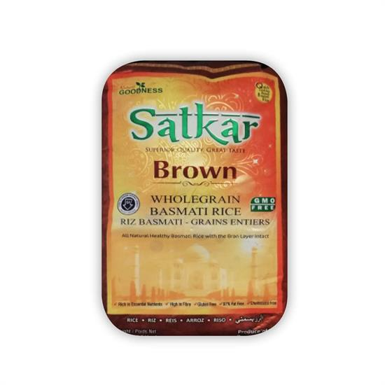 SATKAR BROWN BASMATI RICE 1 kg