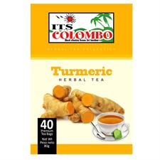 ITS COLOMBO TURMERIC TEA 80 gr . 40 bags