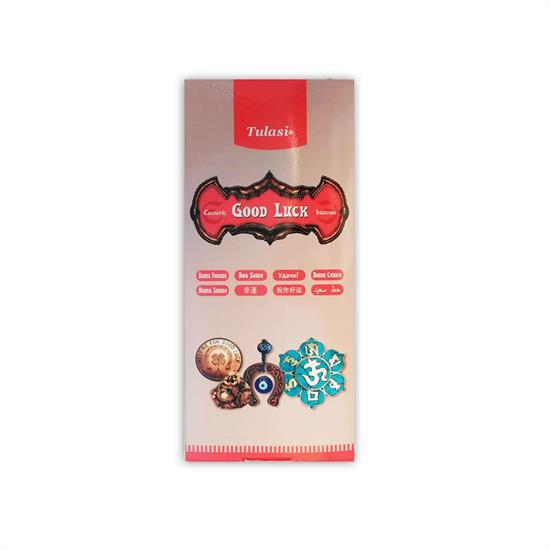 TULASI GOOD LUCK INCENSE 1 box - 20 pieces