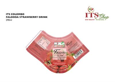 ITS COLOMBO FALUDA DRINK - STRAWBERRY FLAVOUR 290 ml