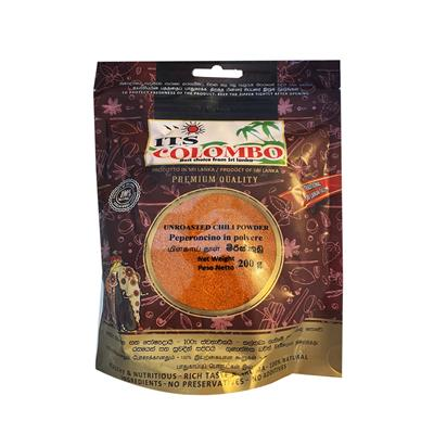 ITS COLOMBO UNROASTED CHILLI POWDER 200 gr