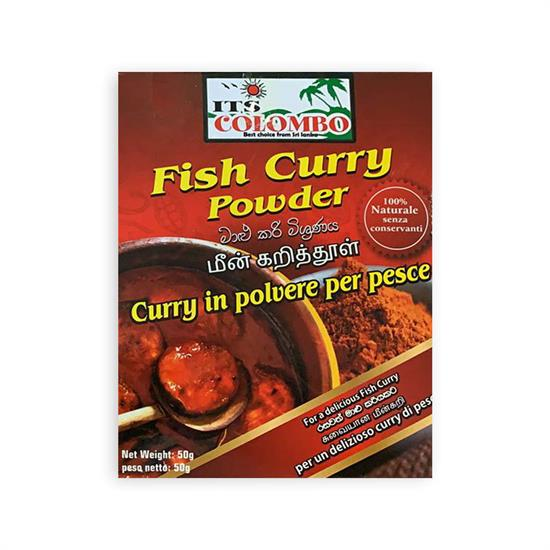 ITS COLOMBO CURRY DI PESCE 50 gr
