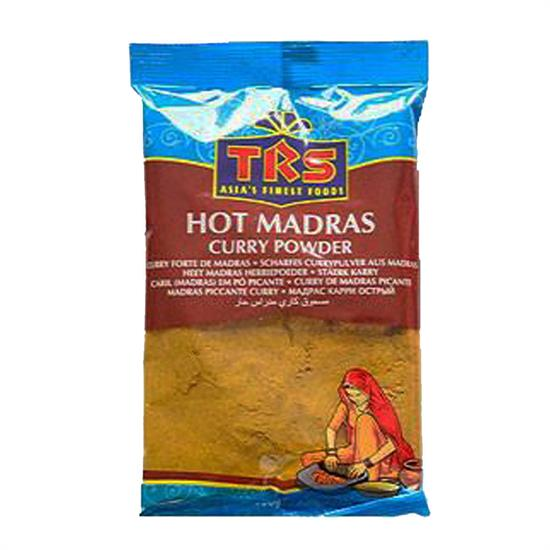 TRS MADRAS CURRY HOT 100 gr