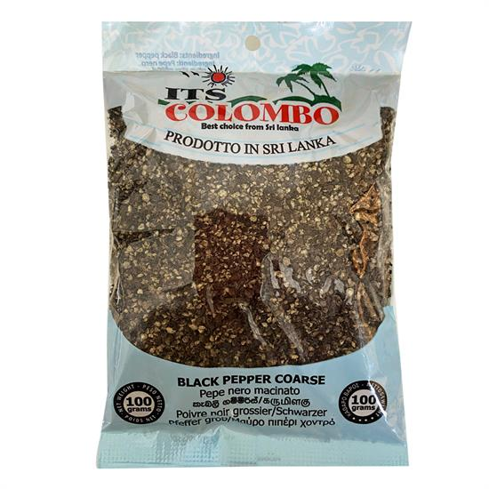 ITS COLOMBO BLACK PEPPER COARSE 100gr