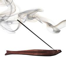 FISH SHAPED - WOODEN INCENSE STICK