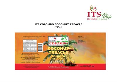 ITS COLOMBO COCONUT TREACLE 740 ml
