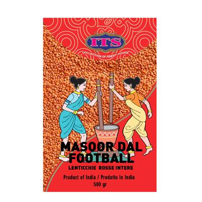 ITS LENTICCHIE ROSSE INTERE-MASOOR DAL FOOTBALL 500 gr